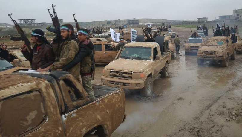 ÖSO teröristlere kucak açan Fransa'ya tepki gösterdi