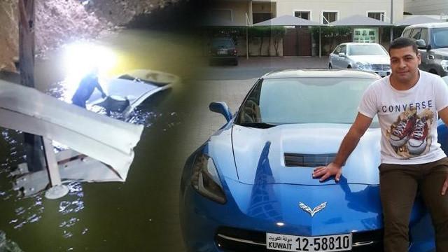 Otomobil su kanalına uçtu: 1 ölü