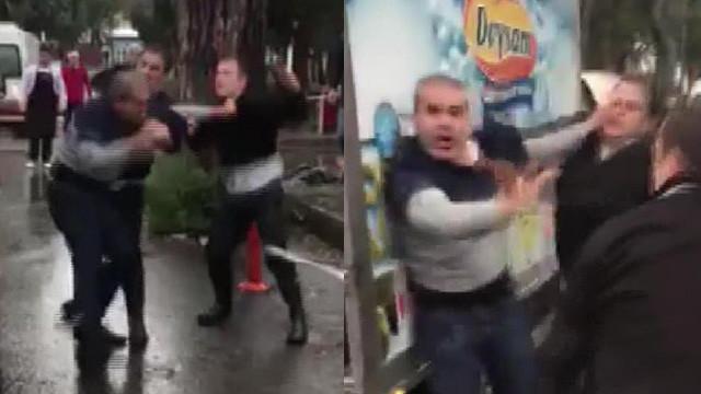 Hastanede kavga ! Güvenlik görevlileri tekme tokat dövdü