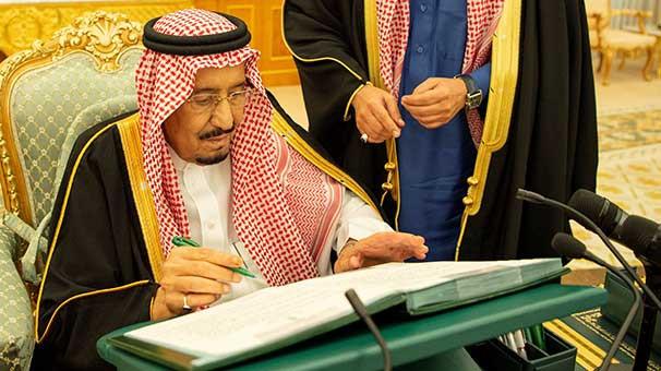 Suudi Arabistan yönetiminde değişiklik