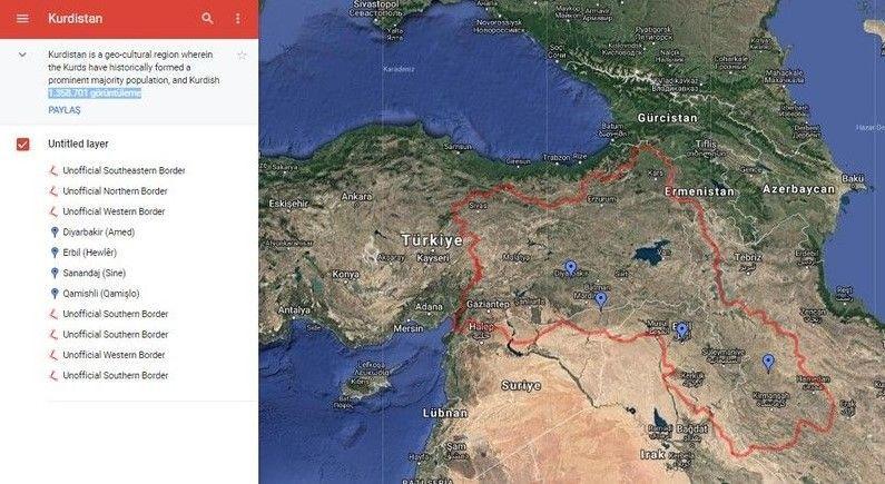 Google'dan Kürdistan rezaleti için geri adım