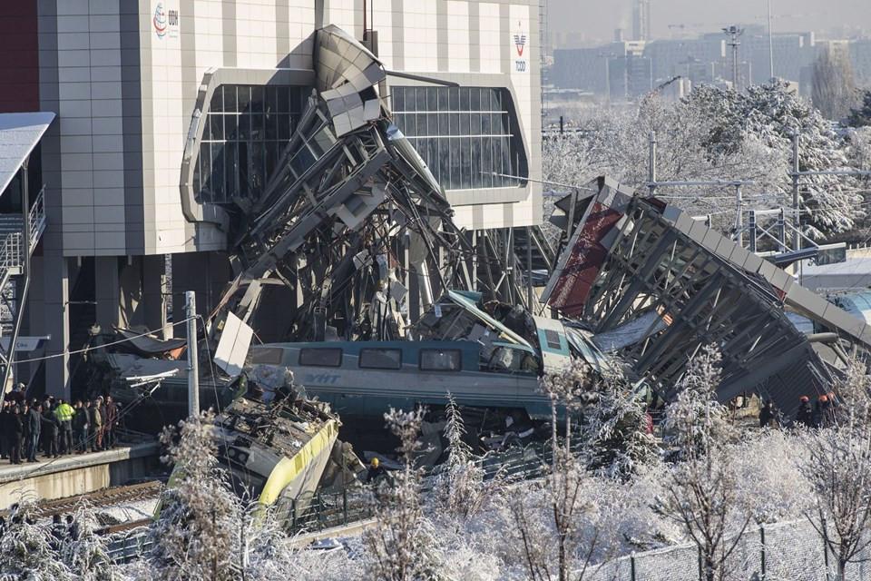 Kazanın yaşandığı hızlı tren hattı seferlere kapatılıyor