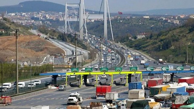 Köprü ve otoyol ücretlerine 2019 zammı yok
