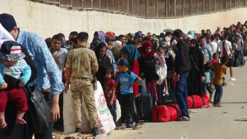 Suriyelilerin bayramı bitti; Türkiye'ye geri döndüler