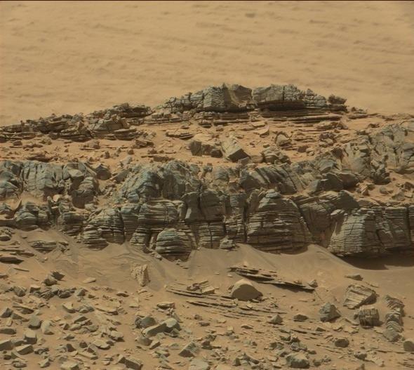Mars'taki bu görüntünün gizemi çözülemiyor