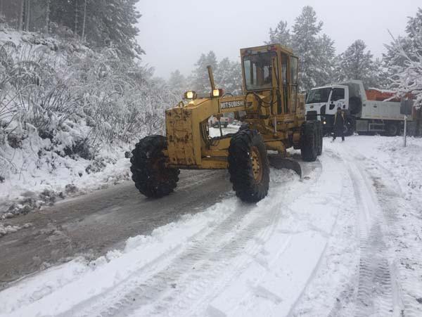 Ege Bölgesi'ne yılın ilk karı düştü