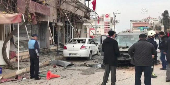 PYD/ PKK'dan Kırıkhan'a roketli saldırı