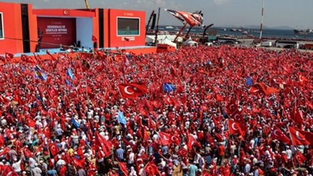İstanbul'da miting alanları belli oldu