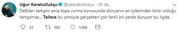 Talisca'nın golü sosyal medyayı salladı