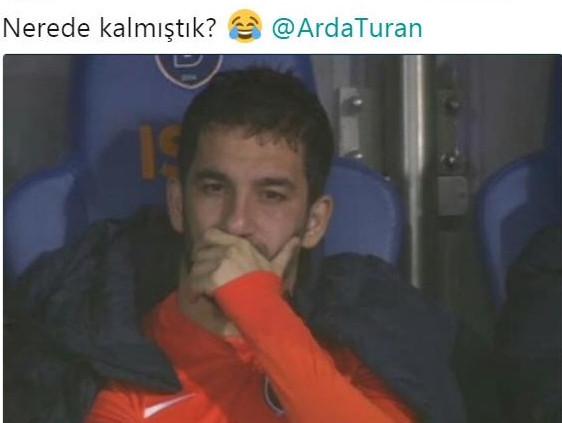 Arda Turan alay konusu oldu !