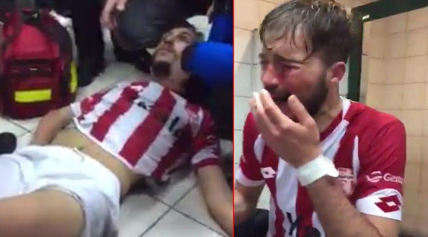 Yeni Çansporlu futbolculara öldüresiye dayak !