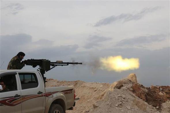 Afrin'de çatışma anları ! Sıcak görüntüler...