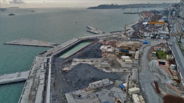 ''Martı Projesi'' havadan görüntülendi