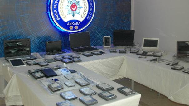 Ankara'da 15 çocuk pornocusu yakalandı !