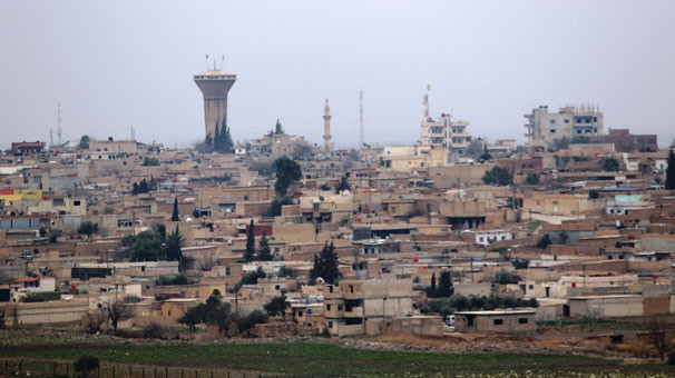 Kamışlı'daki YPG'li teröristler tutuştu !