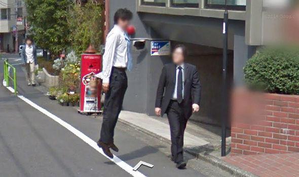 Google kameralarına takılan ilginç görüntüler