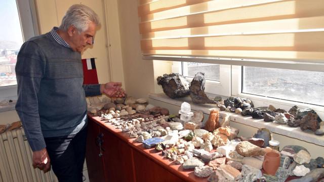 Odasından 500 milyon yıllık fosil çıktı