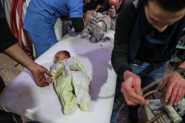 Doğu Guta'da katliam: Ölü sayısı 190'ya yükseldi