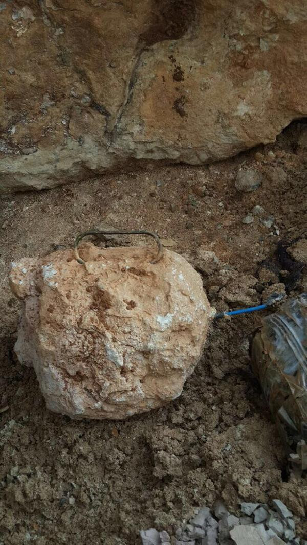 Afrin'de teröristlerin tuzakları ortaya çıktı