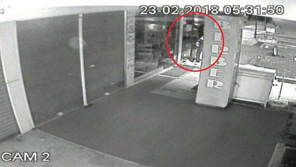 Hırsızlar bakın nereden çıktı !