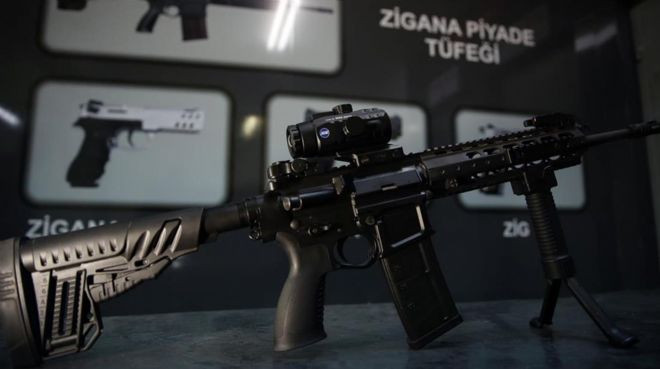 6 ülke sıraya girdi... İşte yüzde yüz milli silah !