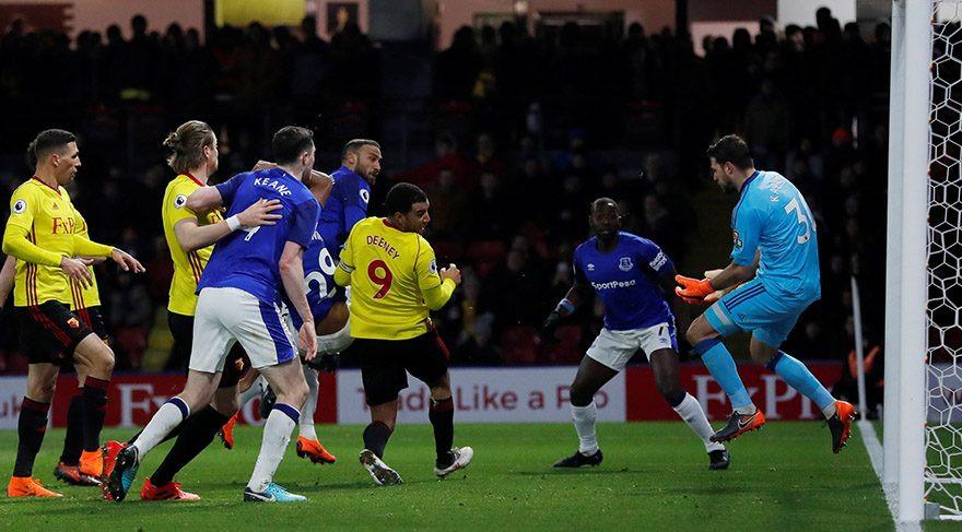 Everton deplasmanda kaybetti