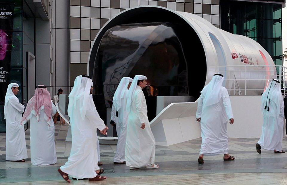 Hyperloop'un prototipi ortaya çıktı