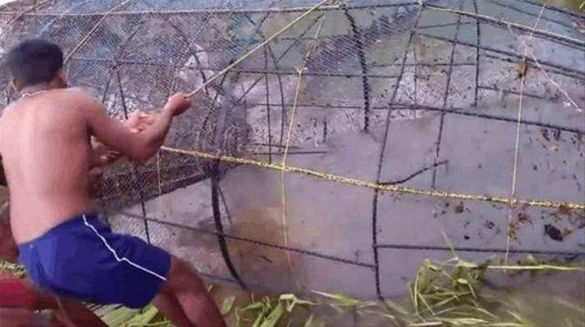 Böyle av tekniği gördünüz mü?