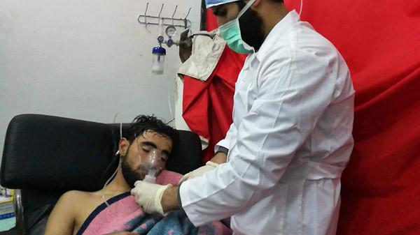 TSK hainleri, Suriye sivilleri vuruyor ! Hem de kimyasallarla !