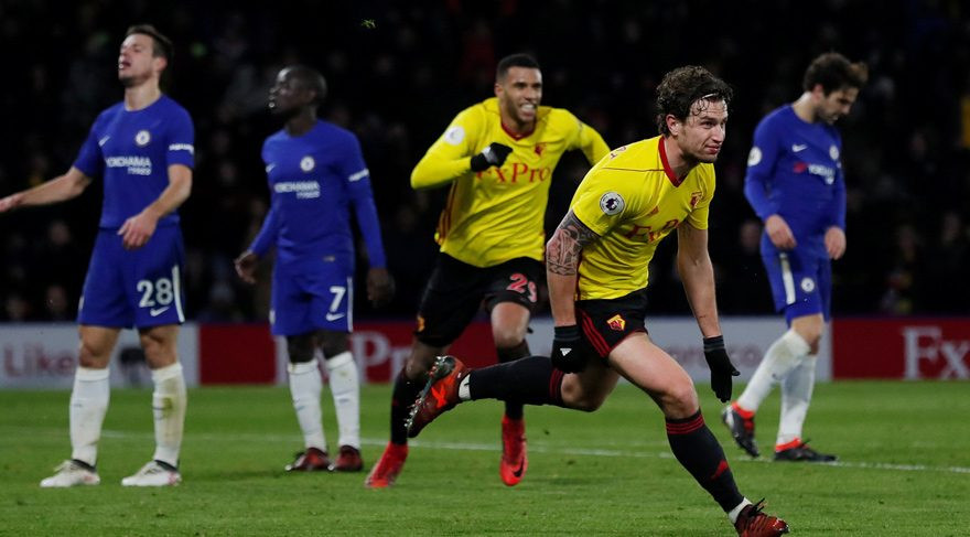 Chelsea deplasmanda dağıldı !