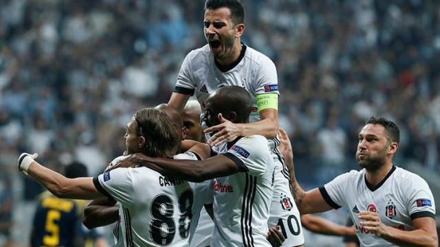 Beşiktaş dev kulüpleri geride bıraktı