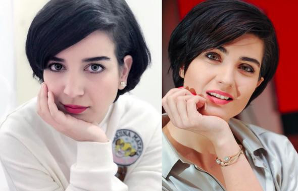 Tuba Büyüküstün'ün ikizi sosyal medyayı salladı
