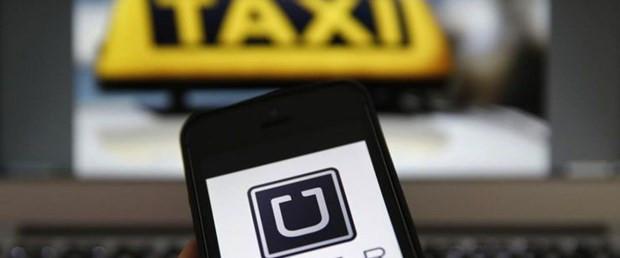 Uber sürücülerinin 2 bini taksici !