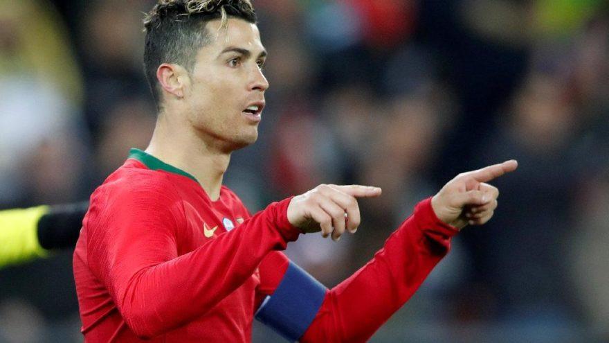 Ronaldo uzatmalarda Portekiz'i kurtardı !