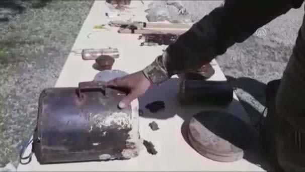 Afrin'de ahırdan çıkanlar şoke etti