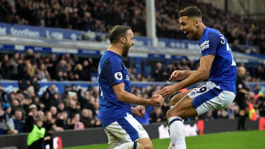 Everton'un yıldızından Cenk Tosun'a övgü
