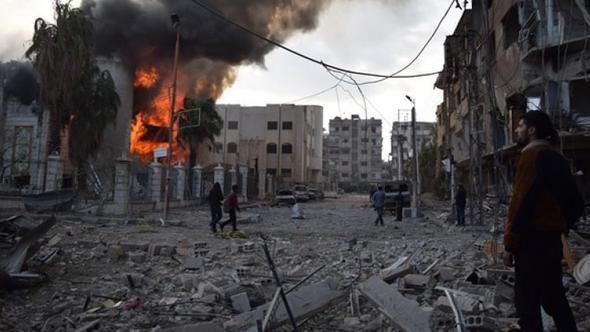 Suriye kasabından şok hamle ! Ateşle oynuyor...