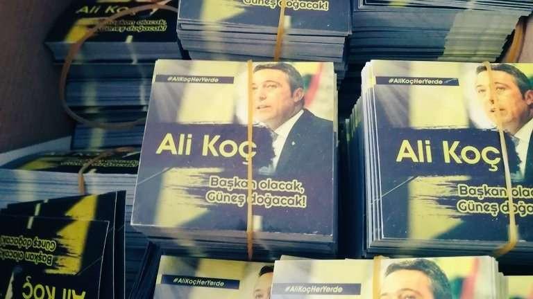 Fenerbahçe taraftarından Ali Koç çılgınlığı !
