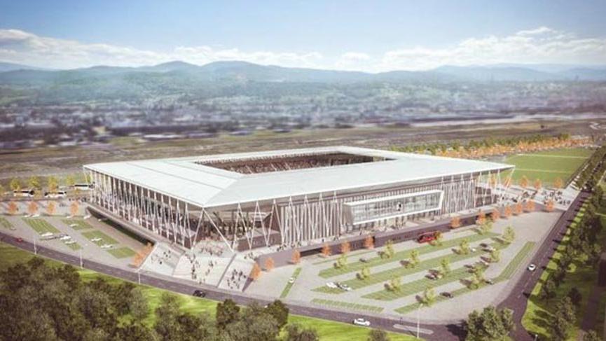 Stadyumun yarısını Milli futbolcu ödeyecek !