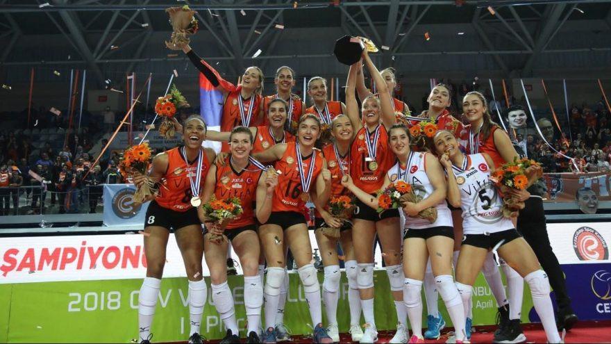 Eczacıbaşı Vitra Avrupa'da şampiyon !