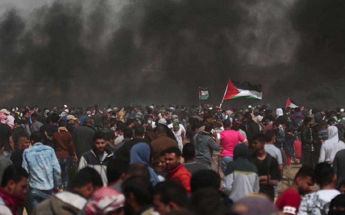 İsrail yine kan döktü: 1 şehit, 968 yaralı