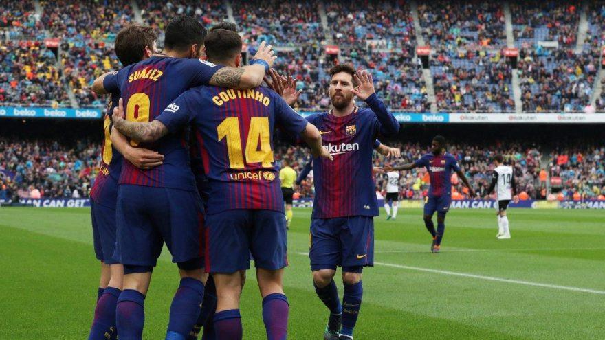 Barcelona yenilmezlik rekorunu kırdı
