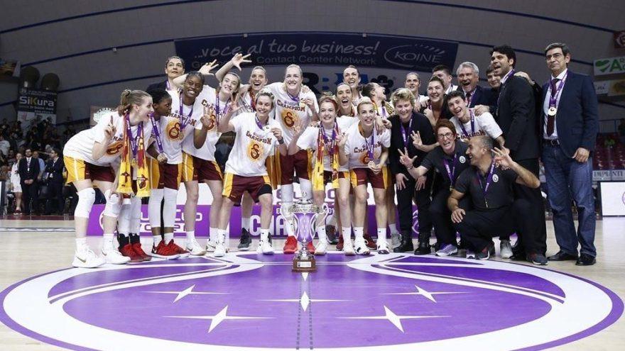 Türk basketboluna en çok kupa Galatasaray'dan !
