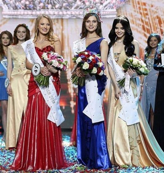 Miss Rusya 2018 birincisi belli oldu