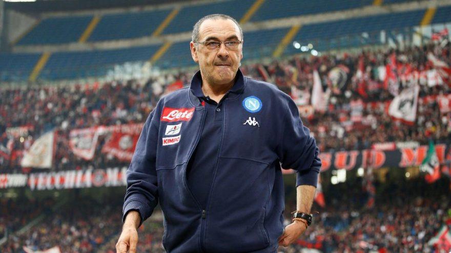 Napoli teknik direktöründen skandal hareket !