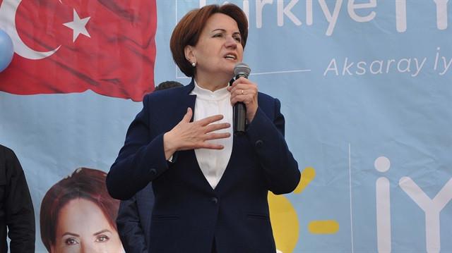 İYİ Parti açıkladı ! Akşener resmen aday !