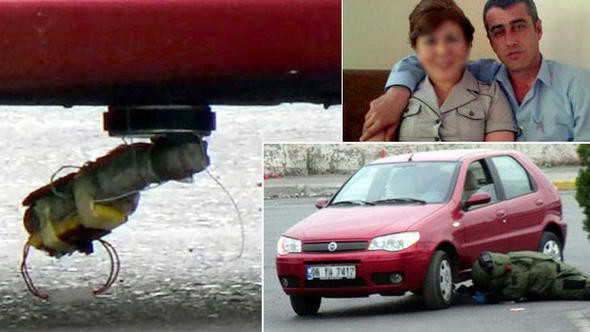 Eşinin otomobiline bomba koyan koca konuştu