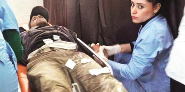 Afrin'de yaralanan teröristler Avrupa'ya...