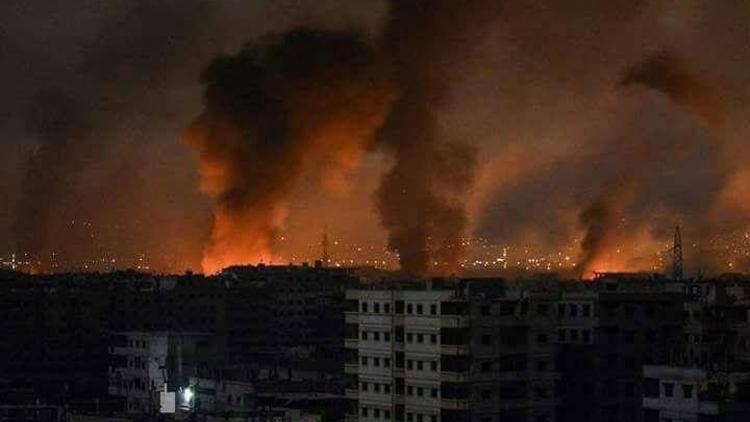 Suriye yine alev alev ! Saldırının arkasında İsrail mi var ?