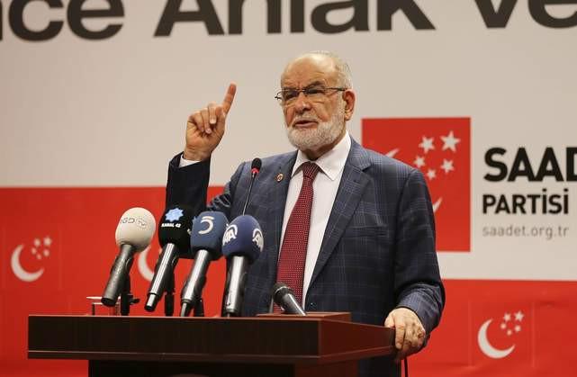 Saadet Partisi, cumhurbaşkanı adayını açıklıyor